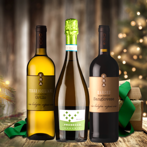 Celebratory Organic Wines Gift Set