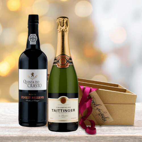 Champagne & Port Wine Gift