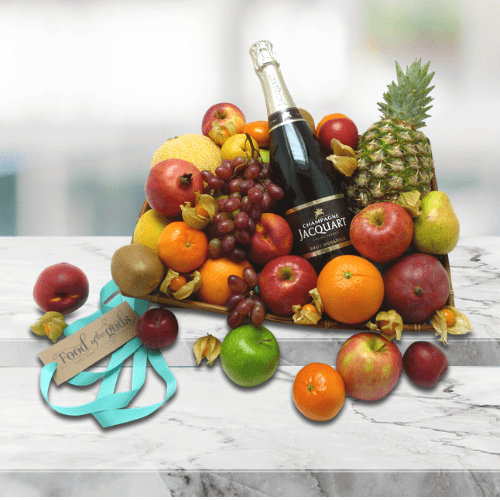 Fresh Fruit and Champagne
