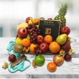 Fresh Fruit Basket with Truffles