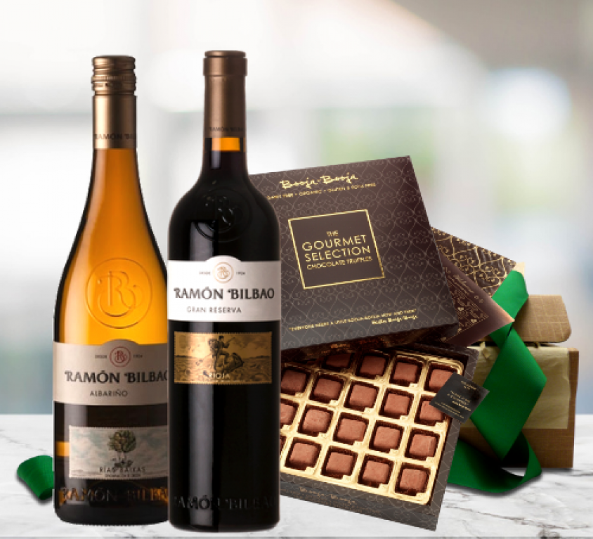 Gourmet Wines and Truffles Gift Set
