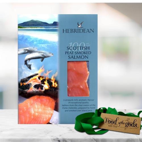 Hebridean Peat Smoked Salmon Side
