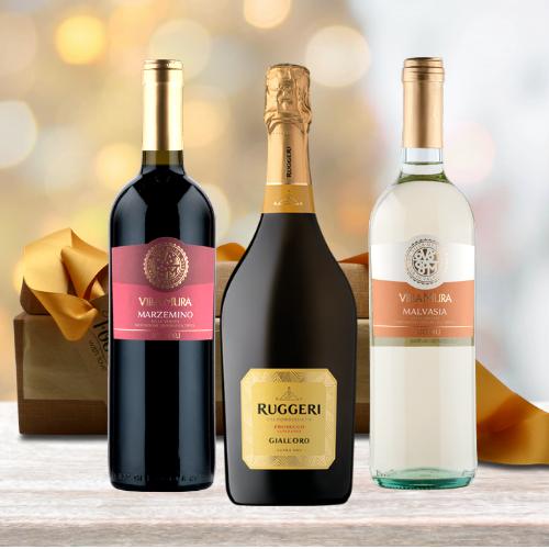 italian wine hamper gift