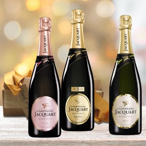 Jacquart Celebratory Champagne Gift Set