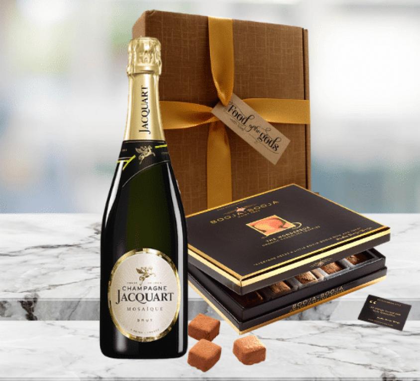Luxury Champagne & Chocolates Gift