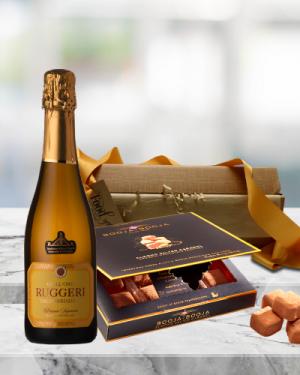 Mini Prosecco & Truffles Gift