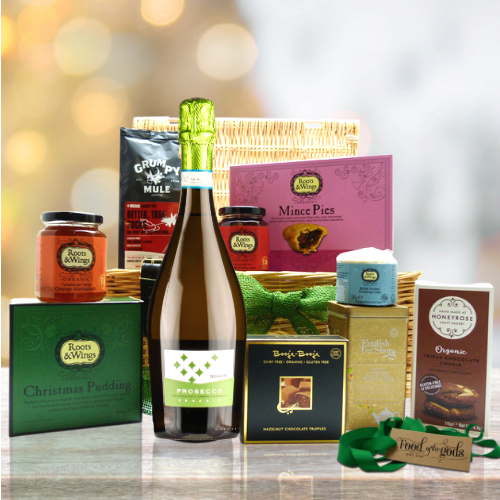 organic christmas hamper