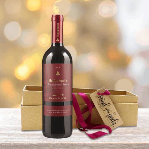 Organic Red Wine Gift