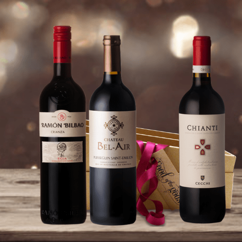 Red Wine Lovers Gift Box