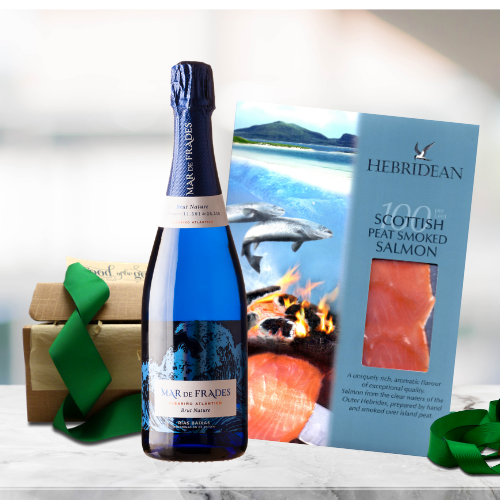 Smoked Salmon and Bubbly Gift