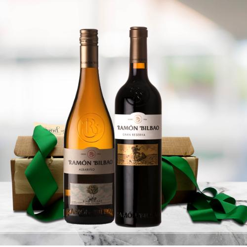 spanish gourmet wine gift set
