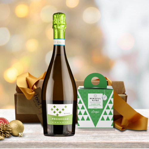 Vegan Organic Prosecco and Panettone Gift
