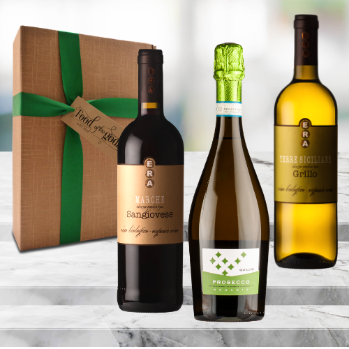 vegan organic wines gift set