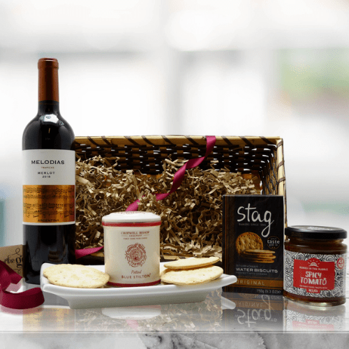 Red Wine and Cheese Hamper