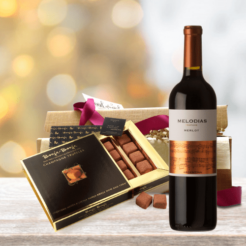 Wine & Chocolate Gift