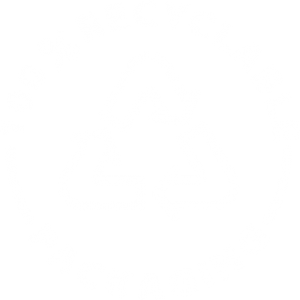 icon recyclable white